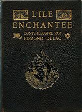 RARE EO H.PIAZZA EDMOND DULAC + MICHEL RHUNE + SHAKESPEARE : L'ÎLE ENCHANTÉE