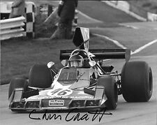 Chris Craft signé 10x8, F5000 Brabham BT43, Brands Hatch 1974