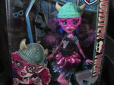 Monster High Doll Kjersti Trollson Troll Brand-Boo Students 1st Wave Original M