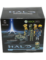 Xbox 360 Avatar Figures Sealed Box of 27 Figures! Series 1 Collection from Halo