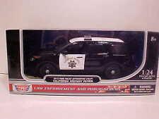 2015 Ford Explorer California Highway Patrol Interceptor Diecast 1:18 CHP 10inch