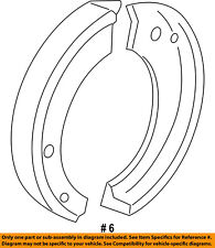 FORD OEM Parking Brake-Shoes BU2Z2648B
