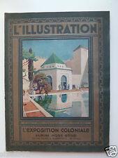 L'illustration, l'Exposition coloniale, album hors-série (juillet 1931)