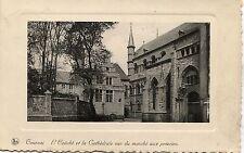 Belgium Tournai - Eveche 1938 mailed postcard