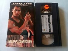 Interpol Connection (VHS, 1996, Robin Shou Action Series)