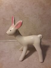 New listing Vintage 1940's Shawnee Pottery Deer Mid Century Planter Matte White