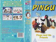 PINGU AND HIS FRIENDS     VHS VIDEO PAL~ A RARE FIND