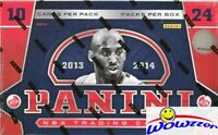 2013/14 Panini Basketball Sealed HOBBY Box-2 AUTOGRAPHS ! Antetokounmpo RC Year!
