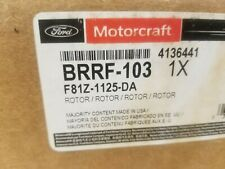 1999-2004 FORD F350 SUPERDUTY FRONT Disc Brake Rotor Original Equip F81Z 1125-DA