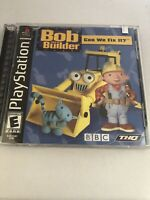 Playstation PS1 Complete Game ~ BOB THE BUILDER: CAN WE FIX IT? ~ Kids Learning