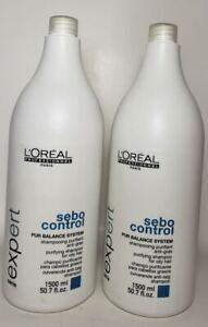 L'oreal Professional Sebo Control PUR Balance System Shampoo 50.7 oz set 2