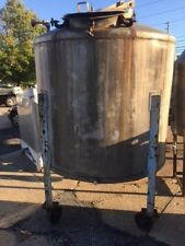 TANK STAINLESS STEEL APPROX 700 GALLON