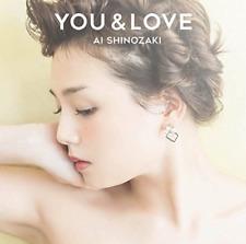 AI SHINOZAKI-YOU & LOVE-JAPAN CD G29