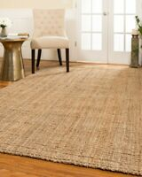 Calvin Thick Hand Woven Jute Non-Slip Skid Resistant Area Throw Rug Carpet