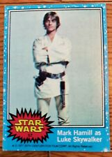 Lot of 13 Trading Cards - 1977 Topps STAR WARS Series Blue Border