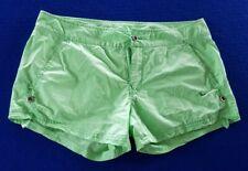 Nike Ladies Green Shorts - Button & Zip Fastening - Size 12