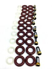 FUEL INJECTOR REPAIR KIT O-RINGS, PINTLE CAPS FILTERS FORD TRUCK 6.8L V10
