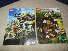 LEGO PIRATES OF THE CARIBBEAN POSTERS, LOT OF 2