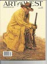 Art of The West art magazine  Jan/Feb 1996 James Bama, Alan Wolton