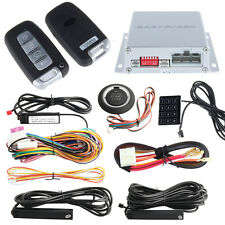 Rolling Code PKE Auto car Alarm system Passive Keyless Entry Push start DC12V