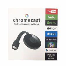 Google Chromecast 2 Digital HDMI Media Video Streamer Black 2017  hot sale new 5