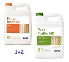 BONA Prime Intense 5 L + 2 x BONA Traffic HD (Matt) 4,95 L - Parkettlack
