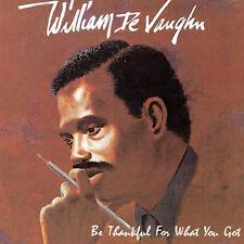 William DeVaughn, De Vaughn, William - Be Thankful [New CD] Canada - Import