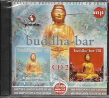 CD MP3 BUDDHA BAR VII 1 ET 2 + BUDDHA BAR VIII 1 ET 2 + BUDDHA BAR IX TUNISIE