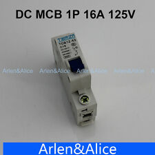 1P 16A DC 125V Circuit breaker MCB