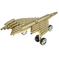 Bullet Shell Casings Plane Jet Aircraft Air Force Military Models Home Decor
