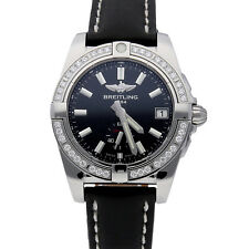 New Breitling Galactic Steel Auto Diamonds Ladies Watch Strap A3733053/BE77