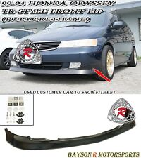 TR-Style Front Lip (Urethane) Fits 99-04 Honda Odyssey [US-Spec Only]