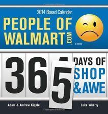 2014 People of Walmart boxed calendar