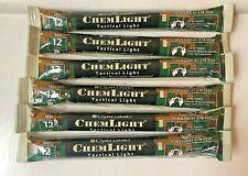 Lot 10 Cyalume chemlight Bâtons Lumineux Rouge 30 M Prepper survie EXP 01//23