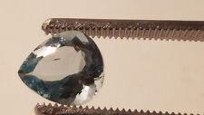 AAA 5.4 Carat Santa Maria Blue Pear Shaped Aquamarine: Excellent Clarity