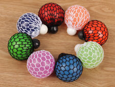 Anti-Stress Reliever Squeeze Ball Stressball Reilef  ADHD Squishy Mesh Ball Toy