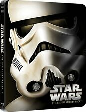 Star Wars Episode V The Empire Strikes Back Limited Edition Steelbook Bluray NEW