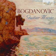ANGELO MARCHESE - GUITAR MUSIC  CD NEW+ DUSAN BOGDANOVIC