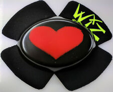 SPARKY WIZ KNEE SLIDERS RED BLACK BIG HEART