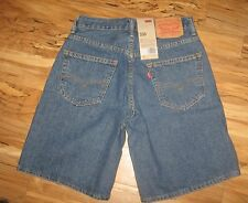 waist 30 men's LEVI'S Relaxed SHORTS 550 ABOVE KNEE MSRP $45 levi  DENIM red TAB