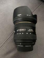 Sigma (Nikon) 24-70mm F/2.8 EX DG HSM Zoom lens