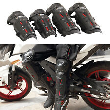 4pcs Motorcycle Elbow & Knee Pads Protectors Adult Motocross Guards Protective
