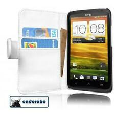 Case for HTC ONE X / X+ Phone Cover Plain Design Wallet Book