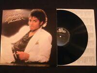 Michael Jackson - Thriller - 1982 Vinyl 12'' Lp./ VG+/ 80's R&B Pop Rock AOR