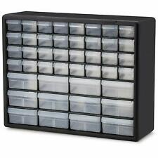 Plastic Storage Cabinet Organizer Drawers Stackable Craft Hardware Bead Fishing