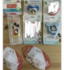 Disney Mickey Mouse Silicone Bottle Pacifier Clip Baby Finger Toothbrush