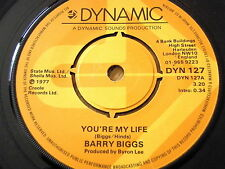 "BARRY BIGGS - YOU'RE MY LIFE  7"" VINYL"