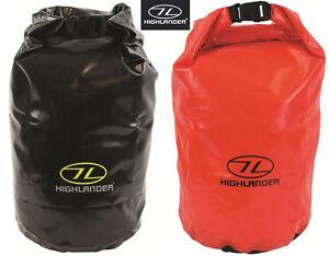Highlander Dry Bag Ocean Pack Kayak Waterprrof Travel Black Red 16L 29L 44L New