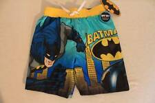 NEW Boys Bathing Suit Swim Trunks Size 5 - 6 Shorts Marvel Batman UV 50 UPF