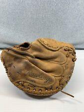 Vintage Rawlings Baseball Glove RHT RCM30 Catcher Lance Parrish Fastback Medium